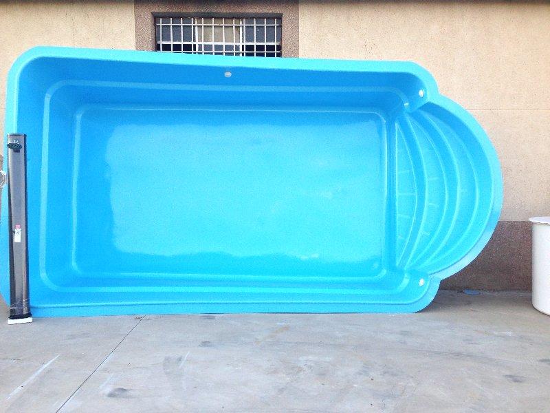 Piscina de poli ster modelo romana iii for Fabricantes de piscinas de poliester
